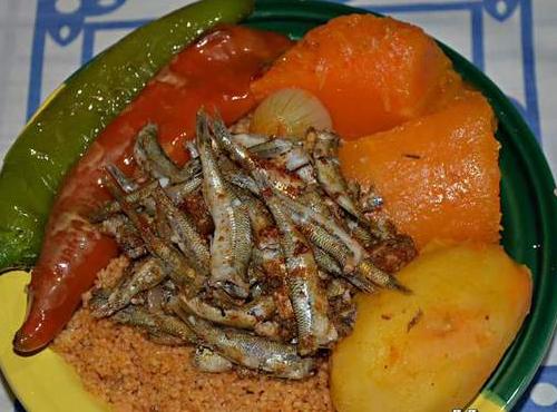 Couscous de Monastir à la sardine