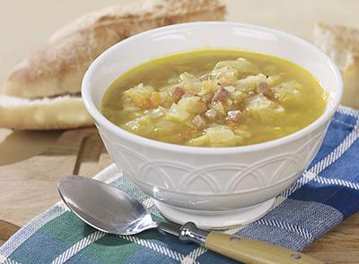 Soupe piquante à l'ail
