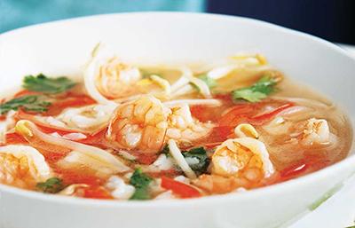 Soupe de crevettes