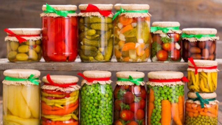 Conserve de légumes au vinaigre