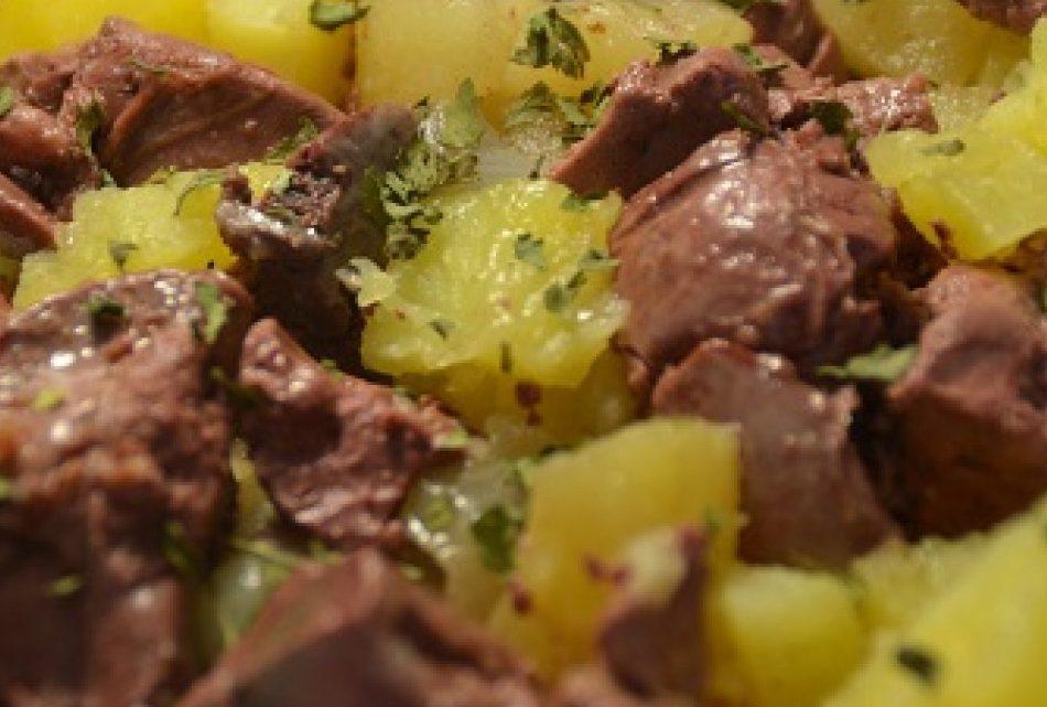 Foies de volaille en salade