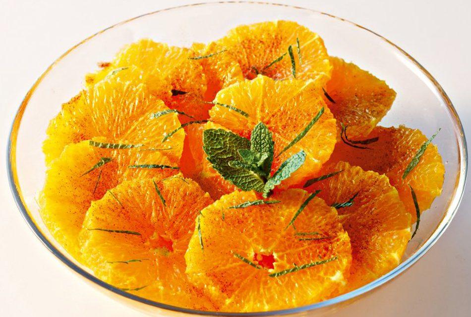Salade d'oranges