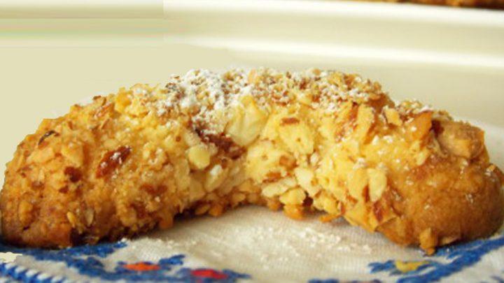 Gâteau de lune à la cacahuète