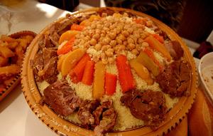 Recette couscous tunisien au viande - Recette cuisine couscous tunisien ...