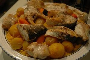 Recette couscous tunisien au poisson - Recette cuisine couscous tunisien ...