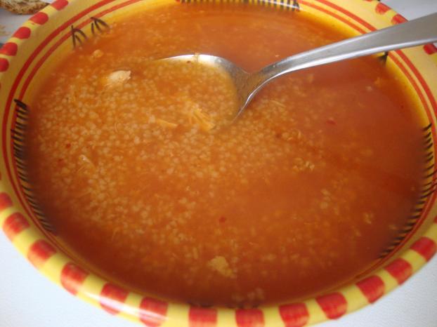 Soupe spécialité tunisienne