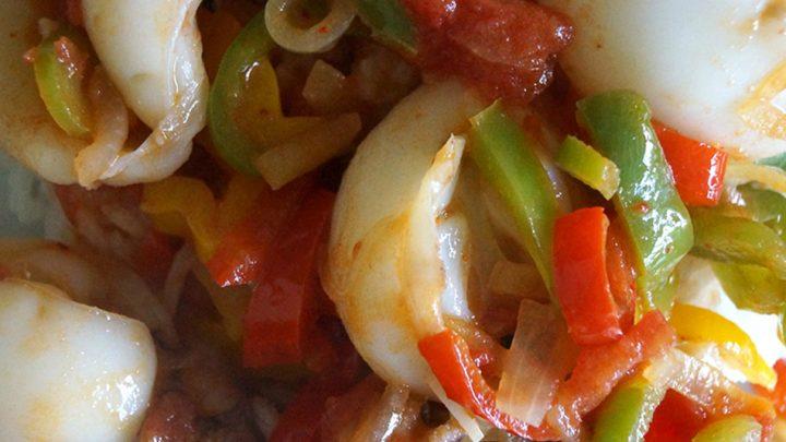 Calamars en salade