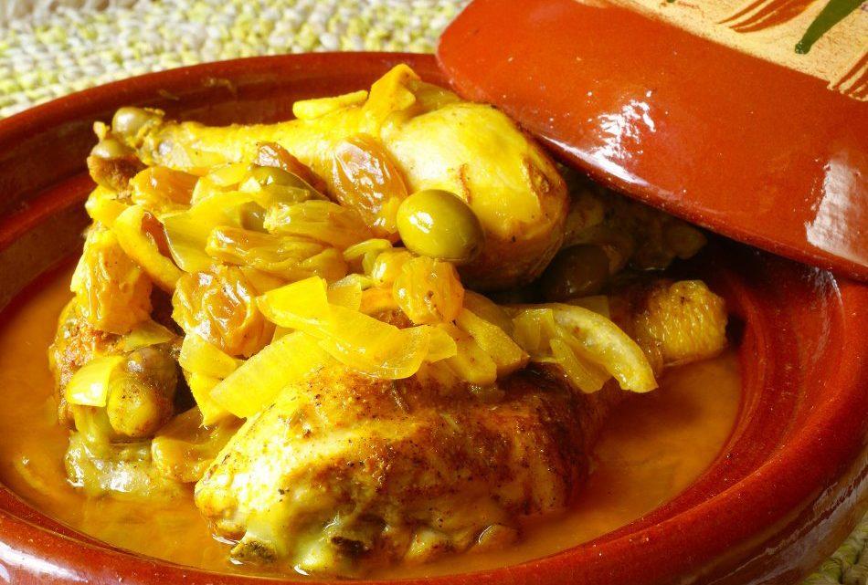 Tajine de poulet (Plat marocain)