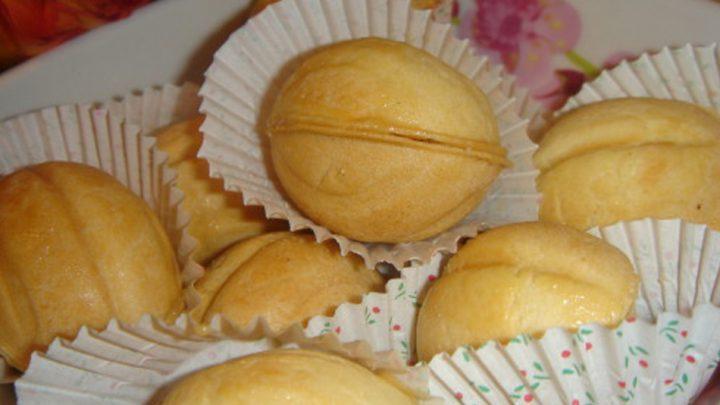 Gâteau en forme de noix