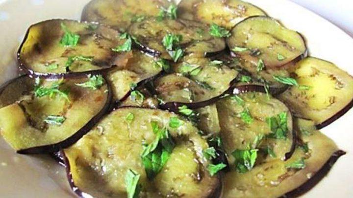 Aubergines à la vinaigrette
