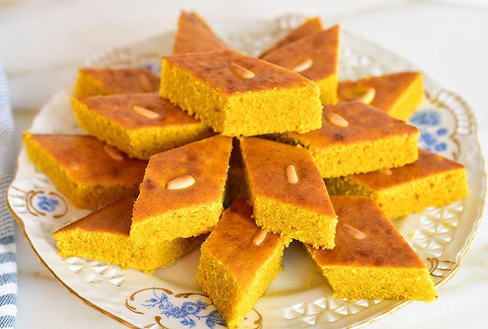 Sfouf (Gâteau Libanais)